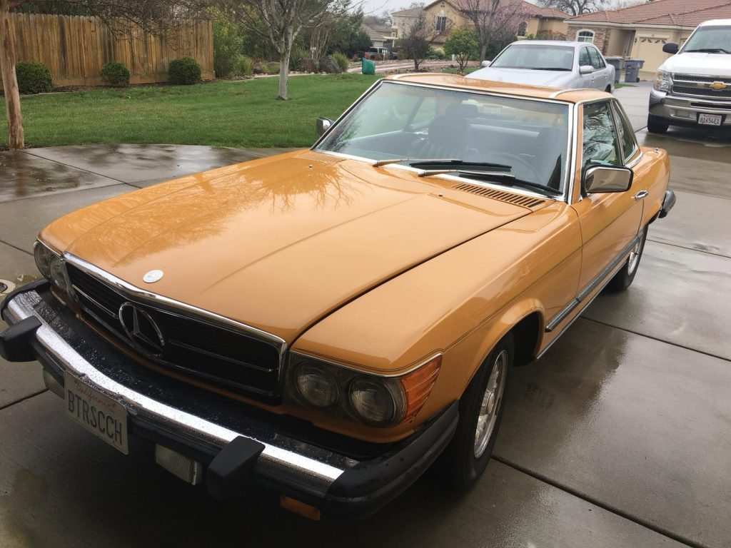 Mercedes 450 SL 1980 (Unique Find & Very Rare Color Combination)