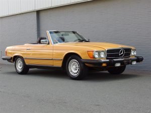 Mercedes 450 SL 1980 (Unique Find & Very Rare Color Combination)