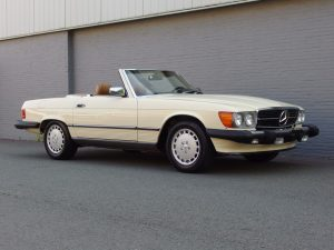 Mercedes 560 SL 1988 (Fantastic Car & Ready for the Summer)