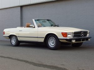 Mercedes 380 SL 1983 (European Specifications & Ready for the Summer)