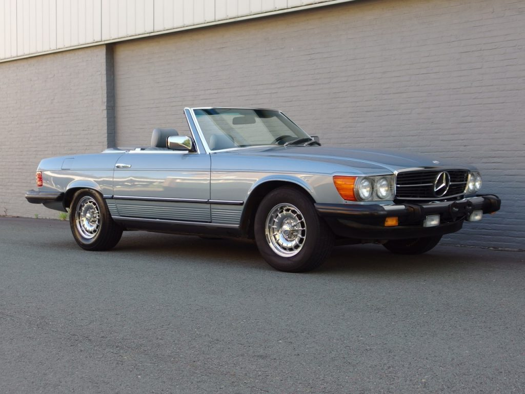 Mercedes 380 SL 1985 (Beautiful Condition & Low Mileage)