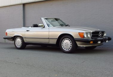 Mercedes 560 SL 1986 (Perfect Driver &  Rust Free California Import)
