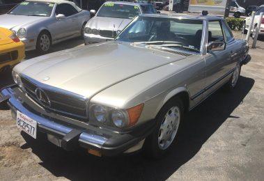 Mercedes 560 SL 1986 (Perfect Driver &  Rust Free California Import)