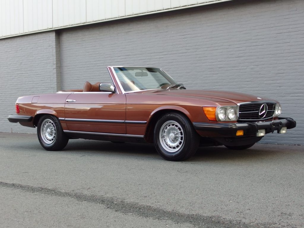 Mercedes 450 SL 1978 (Mint Condition & Low Mileage)