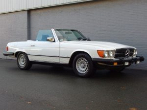 Mercedes 380 SL 1983 (Original Condition & Great Documentation)