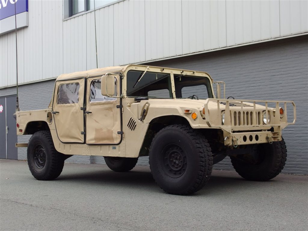 AM General HMMWV Hummer H1 1987 (Unique Vehicle & Good Condition)