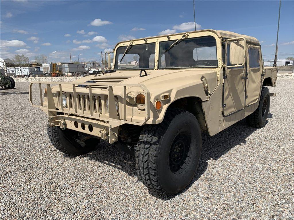 AM General HMMWV Hummer H1 1987 (Unique Vehicle & Good Condition)