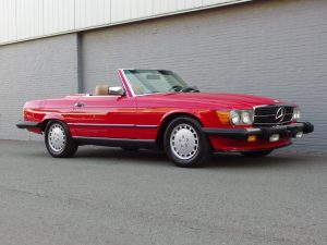 Mercedes 560 SL 1987 (Very Presentable & Original Condition)