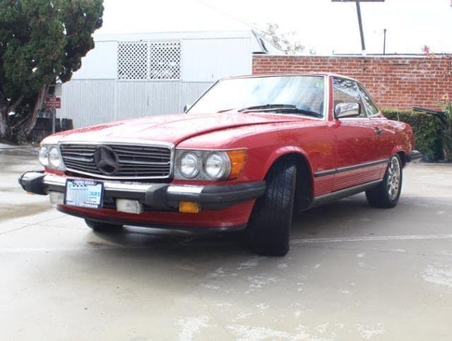 Mercedes 560 SL 1986 (Perfect Runner & Good Basics)