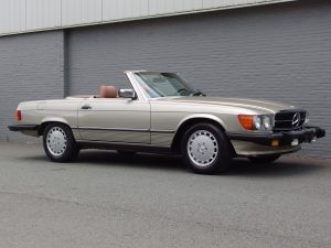 Mercedes 560 SL 1986 (Perfect Technics & Presentable Car)
