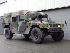 AM General HMMWV Hummer H1 1989 (Strong Machine & Unique Hardtop Model)