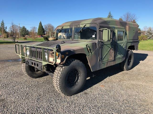 AM General HMMWV Hummer H1 1989 (Strong Machine & Unique Hardtop Model)