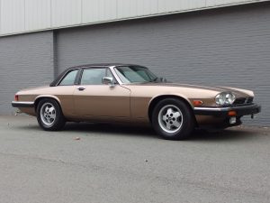Jaguar XJ-SC Targa 1987 (Rare Color Combination & Unique Model)