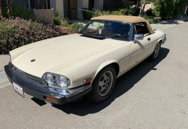 Jaguar XJS Convertible 1987 (Very Original Car & Great Looking Classic)