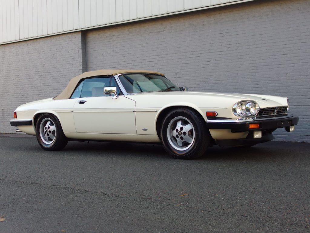 Jaguar XJS Convertible 1987 (Very Original Car & Great Looking Classic)