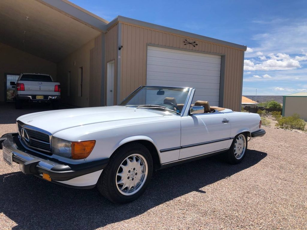 Mercedes 560 SL 1987 (Perfect Runner & EU Headlights)