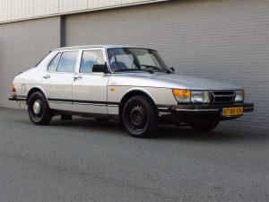 Saab 900 1987 4-Door Sedan (Original Dutch Car Still In Great Shape)