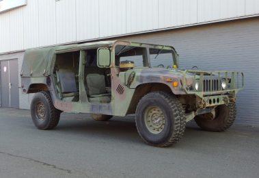 AM General HMMWV Hummer H1 1986 (Strong Machine & Original Condition)