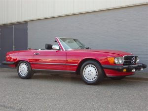 Mercedes 560 SL 1986 (Perfect Runner & Good Basics)