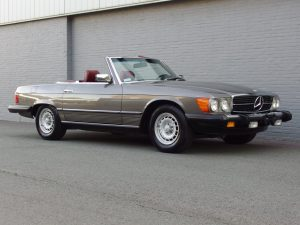 Mercedes 380 SL 1985 (Very Presentable & Beautiful Color Combination)