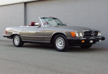 Mercedes 380 SL 1985 (Very Presentable & Beautiful Color Combination)