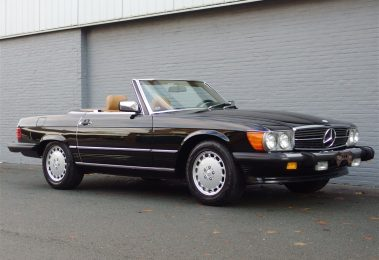 Mercedes 560 SL 1986 (Beloved Color Combination & Rear Seats)