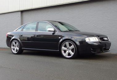 Audi RS6 2004 (Black on Black & Extreme Fast Sedan)