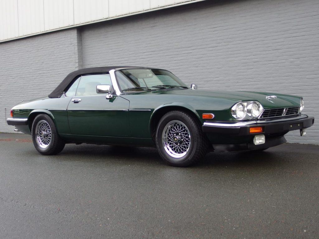 Jaguar XJS V12 Convertible 1989 (Californian Car in Characteristic Jaguar Racing Green)