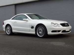 Mercedes SL55 AMG 2003 (Japan Import & High-End Convertible)