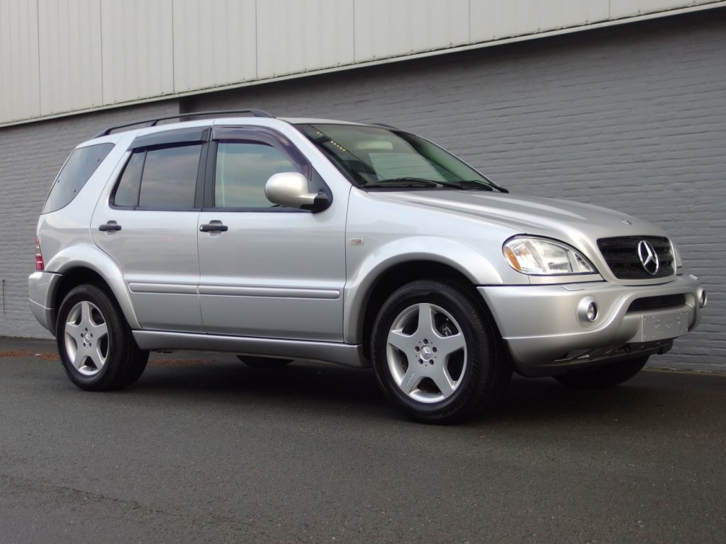 Mercedes ML55 AMG 2000 (Japan Import & Rare Youngtimer)