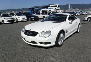 Mercedes SL55 AMG 2003 (Japan Import & High-End Convertible)