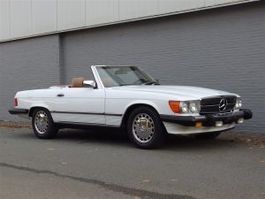 Mercedes 560sl 1986 (California Import & Nice Beach Cruiser)