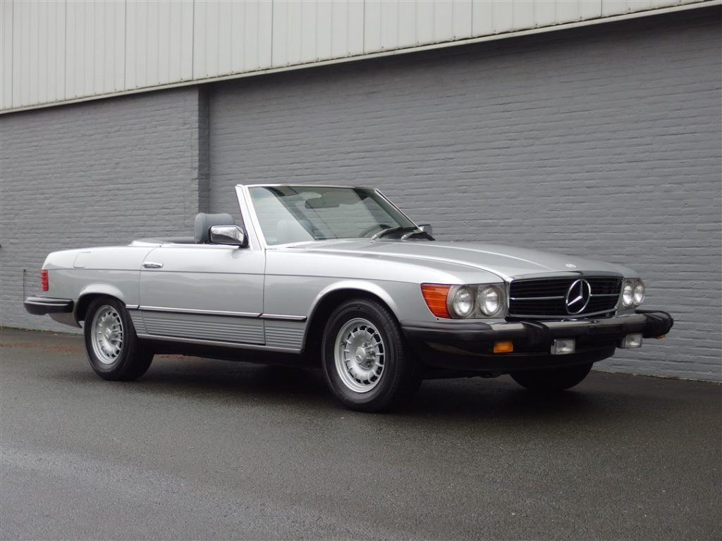 Mercedes 380 SL 1981 (Perfect Runner & Low Mileage)