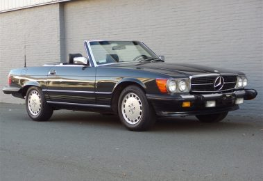 Mercedes 560 SL 1987 (Triple Black Combination & Perfect Technics)