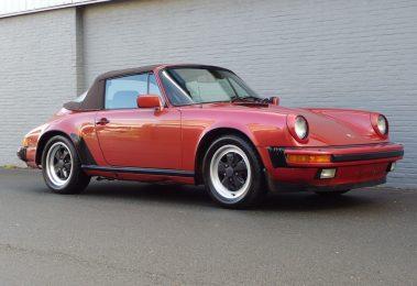 Porsche 911 Carrera Convertible 1984 (Perfect Summer Cruiser & Good Mechanics)