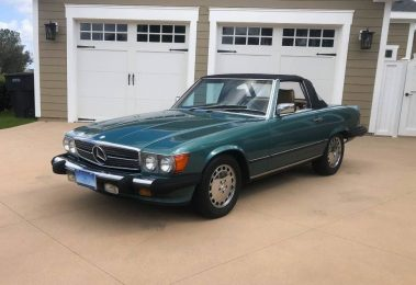 Mercedes 560 SL 1988 (Beloved Color Combination & Perfect Summer Car)