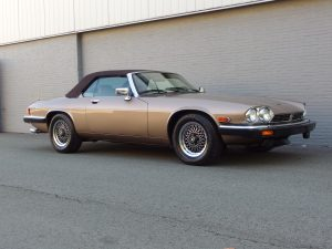 Jaguar XJS Convertible 1990 (Strong Runner & Iconic Britisch Car)