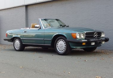 Mercedes 560 SL 1989 (California Import & One of the last R107 Produced)