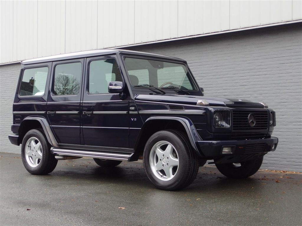 Mercedes G55 AMG 2001 (Very Powerful & Rare Youngtimer)