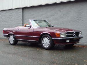 Mercedes 300 SL 1986 (Rare Model & Very Original Car)