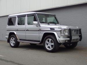Mercedes G500L 2001 (Rust free & Japan Import)
