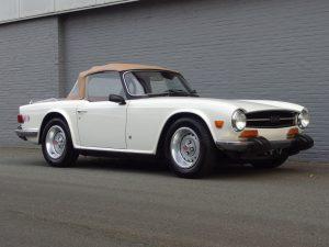 Triumph TR6 1974 (California Import & Nice Runner)