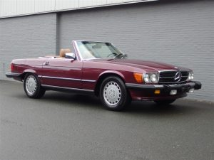 Mercedes 560 SL 1986 (Famous Original Owner & Very Presentable)