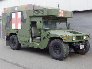 AM General HMMWV Hummer H1 Maxi-Ambulance 1988 (Very Rare Model & Perfect Runner)