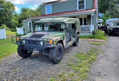 AM General HMMWV Hummer H1 Helmet Top 1986 (Rare Model & Powerful Car)