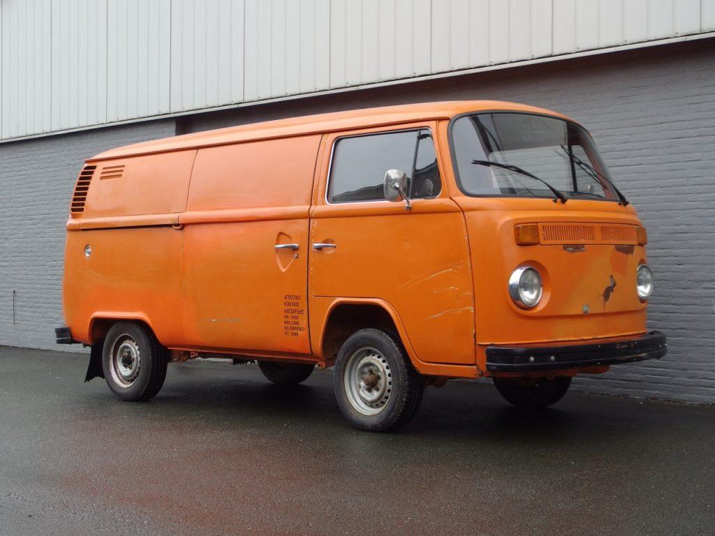 Volkswagen T2 Panel Van 1975 (Great Survivor & Good Technics)