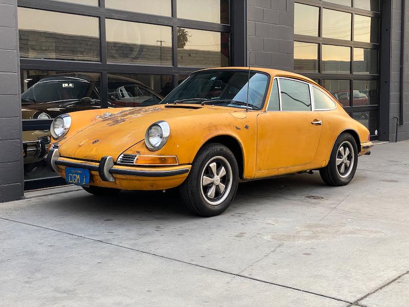 Porsche 911 E Coupe 1970 (Original / Complete Car & Perfect Restoration Candidate)