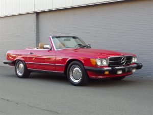 Mercedes 560 SL 1986 (Beloved Color Combination & Ready For The Sun)