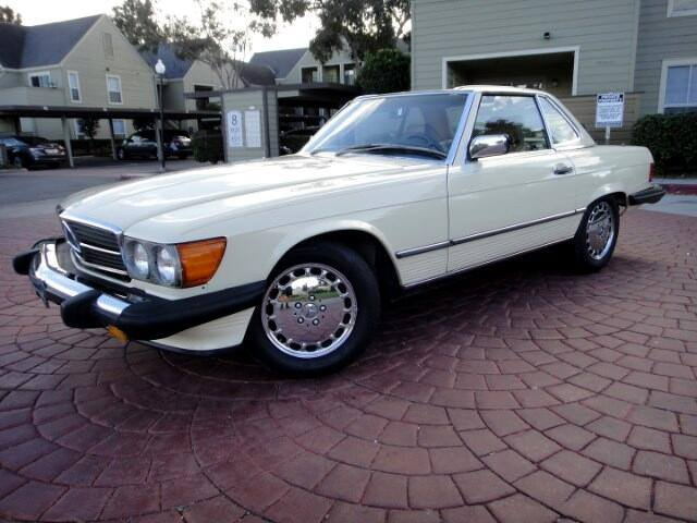 Mercedes 560 SL 1988 (Dry California Import & Perfect Runner)