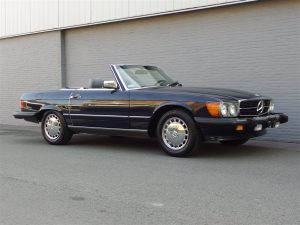 Mercedes 560 SL 1986 (Very Well Maintained & In Beautiful Dark Blue)